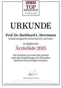 Prof-Herrmann_Urkunde-Aerzteliste-2015_Guter-Rat