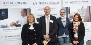 Prof. Dr. med. Herrmann auf der Gesundheitsmesse Bochum 2013