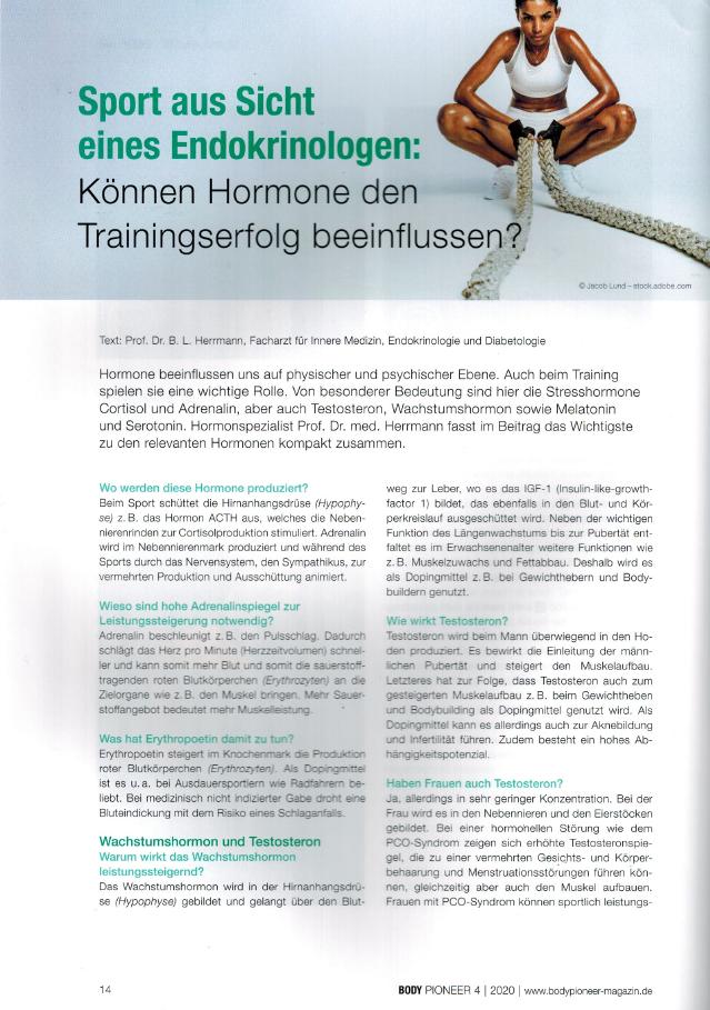 Training Hormone